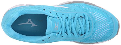 Mizuno Synchro MX Synthétique Baskets Blue Atoll-White