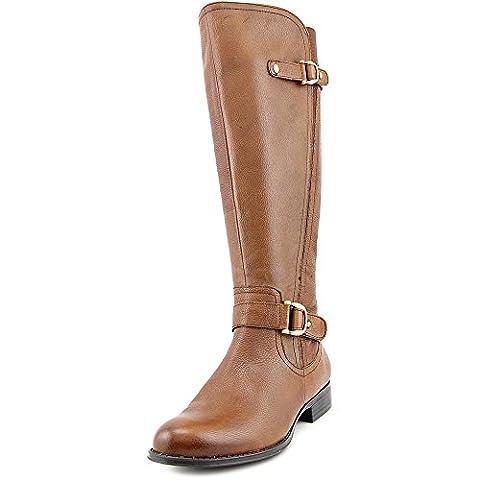 Naturalizer Jersey Damen US 5.5 Braun Mode-Knie hoch Stiefel EU 36,5