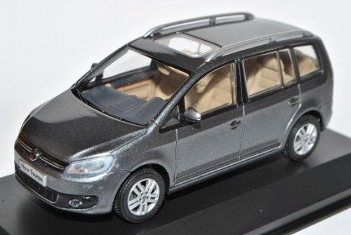 Preisvergleich Produktbild VW Volkswagen Touran Braun Grau GP2 Ab 2010 China Version 1/43 PAudi Modell Auto mit individiuellem Wunschkennzeichen