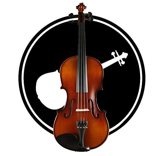 Yang violino violino 4/4 con l'apprendimento punti intagliato a mano e lucidato a forma di arco abete pannello astuccio rigido con rosin, 5 formati yyfang (color : brown, size : 1/4)