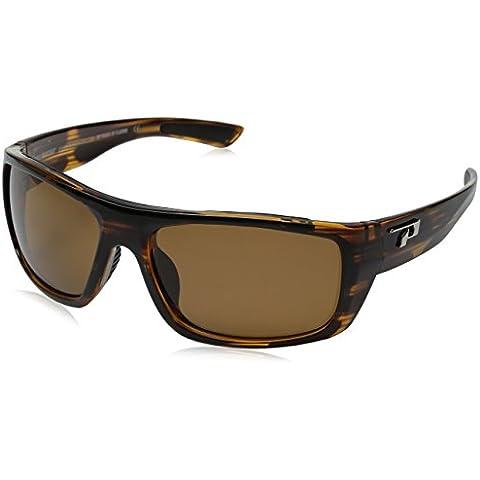 Pimientos gafas de sol polarizadas Landmark brillante tortuga con marrón lente