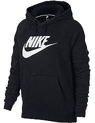 Nike W NSW Rally Hoodie Hbr Sweat-Shirt Femme
