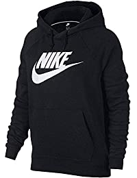 purchase cheap 236e1 3a1bf Nike W NSW Rally Hoodie Hbr Sweat-Shirt Femme