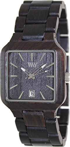 WeWood Watches WMEBLAC - Reloj unisex color madera