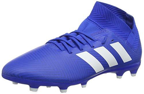 adidas Unisex-Kinder Nemeziz 18.3 FG Fußballschuhe, Blau Ftwbla/Fooblu 001, 36 EU (Kleines Adidas Kind Fußballschuh)