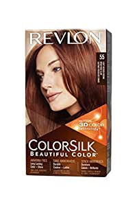 REVLON Colorsilk Coloration des Cheveux N°55 Light Reddish Brown 59,1 ml
