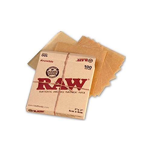 raw-unrefined-parchment-paper-squares-3-x-3-100-sheet-pack-by-raw