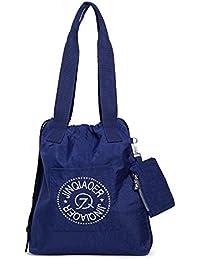 TOYOOSKY Bolsa de nylón impermeable Bolso bandolera Bolsa de ocio Bolsa de compras Bolso de la playa Bolsa de mujer Puedes llevarlo a la escuela trabajar viajar(3colores de opción)