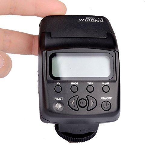Viltrox JY-610N II i-TTL On-Kamera Mini Flash Speedlight Blitzgerät für Nikon D3300 D5300 D7100 Kamera