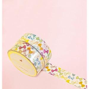Bunte Bögen Washi Tape for Planning • Planer und Organizer • Scrapbooking • Deko • Office • Party Supplies • Gift Wrapping • Colorful Decorative • Masking Tapes • DIY (15mm breit - 10 Meter)