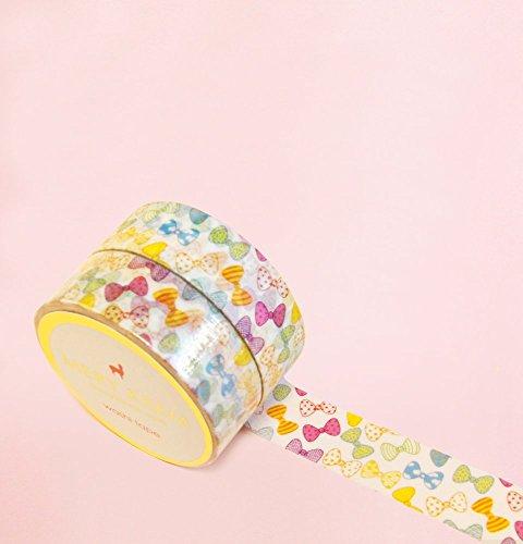 Bunte Bögen Washi Tape for Planning • Planer und Organizer • Scrapbooking • Deko • Office • Party Supplies • Gift Wrapping • Colorful Decorative • Masking Tapes • DIY (15mm breit - 10 Meter) - Viktorianischen Bogen