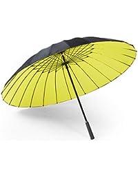 Big seller Paraguas 24 Hueso, Doble Capa, Mango Largo, Paraguas, Grande,