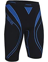 Tervel Men's Optiline Running Shorts Black/Blue