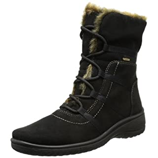 ara München-St-Gor-Tex, Women's Snow Boots, Brown (Black, Nature -06), 6.5 UK (40 EU)