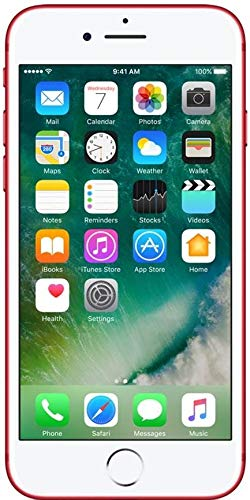 Apple iPhone 7 128 GB UK-SIM-Free Smartphone - Red (Refurbished)