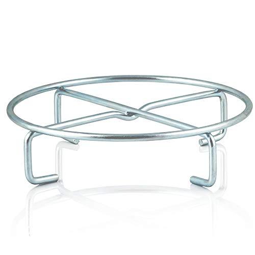 BBQ-Toro Dutch Oven Untersetzer I Ø 20 x 5 cm I Verzinkter Stahl I Topfständer für Grillpfanne, Camping und mehr