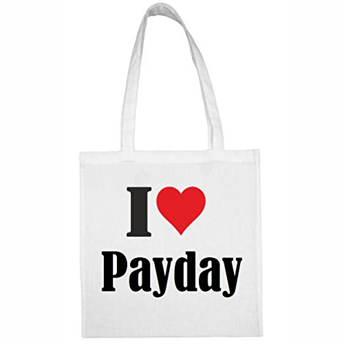 taschei-love-paydaygrosse38x42farbeweissdruckschwarz