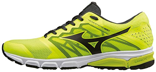 Mizuno Wave Daichi 2, Chaussures de Running Entrainement Homme Jaune (Safety Yellow/black/dark Shadow)