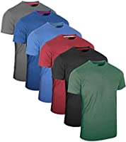 FULL TIME SPORTS¨ 2 6 Pack Assortiment de Hauts dŽcontractŽs Langarm -, Kurzarm - Pack Multiple T-Shirts Rundhals
