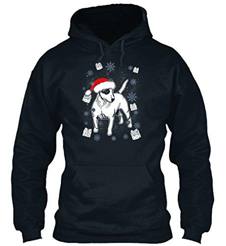 n / Herren / Unisex von Teespring | Originelles Outfit für jeden Anlass und lustige Geschenksidee - Bullterrier Santa Christmas Gift Dog Bre (Lustige Santa-outfits)