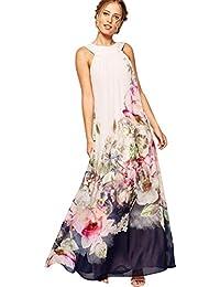 eeaba0807456 CLOOM Vestito Donna Estivo Vestiti Donna Lungo Estivi Eleganti da Cerimonia  Vestito Lungo Donna Cerimonia Abiti