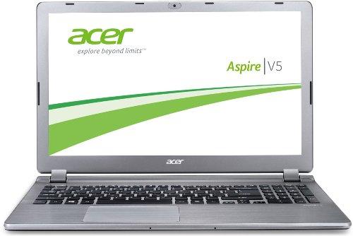 Acer Aspire V5-573G-54208G50AII 39,6 cm (15,6 Zoll) Notebook (Intel Core i5 4200U, 1,6GHz, 8GB RAM, 500GB HDD, NVIDIA GF GT 750M, kein Betriebssystem) silber (Laptop Nvidia 750)