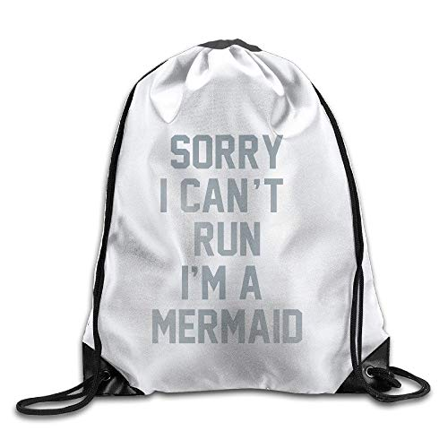 ZHIZIQIU I Cant Run, I,Ladies Drawstring Bags,Bundle Pack,Shoulder Bags Fox Run Apple