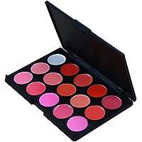 Contever® Set 15 Colori Palette Labbra Trucco - Lucidalabbra Donna