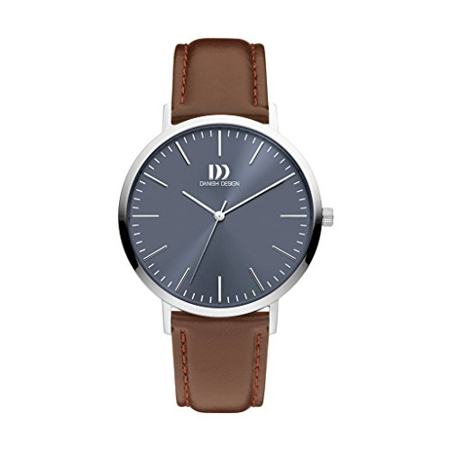 Danish Design Unisex Analogue Quartz Watch with Leather Strap IQ22Q1159