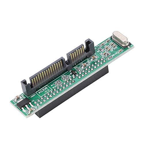 ASHATA 44-polige Konverter-Adapterkarte, 22-polige SATA-Buchse auf IDE, 2,5-Zoll-Festplatte, Übertragungsrate 150 MB/s, Unterstützung für Windows, 98SE / 2000 / ME/XP/Vista und NT, 4 und Linux -