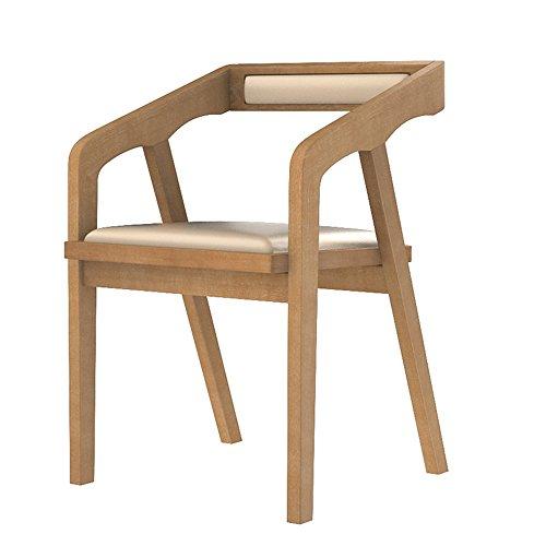 Sedie meiduo sgabelli durevoli pranzo cucina con sedile e schienale in poliuretano con gambe in legno pranzo e soggiorno per interni all'aperto (colore : 1003)