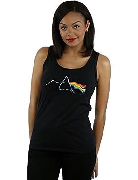 Pink Floyd Mujer Rippled Prism Camiseta Sin Mangas