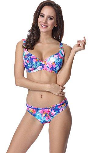 Feba Figurformender Damen Bikini F07 Muster-311