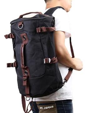 PsmGoods AUGUR Canvas Unisex Modisch elegante Rucksack-Rucksack Daypack Rucksack Schultasche