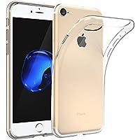 EasyAcc iphone 7 Custodia, iphone 7 Morbido TPU Custodia Cover Cristallo limpido Trasparente Slim Anti Scivolo Custodia Protezione Posteriore Cover Antiurto per iphone 7