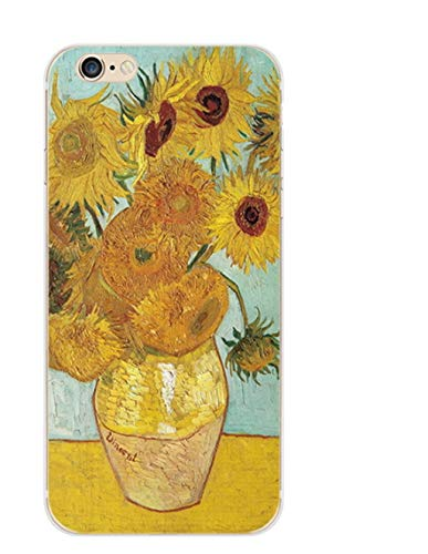 CHENYAJUAN Öl Malerei Wind Handy Shell Lackiert Handy Schutzhülle Q Für Das iPhone 7/8