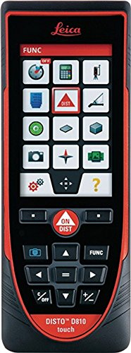 Entfernungsmesser Leica DISTO D810 touch Messb. 0,05-200m m.Touch-screen Touch-screen-tools