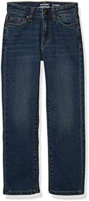 Amazon Essentials Boys' Slim-Fit Jeans, Everest Medium Wash