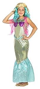 Atosa-22202 Disfraz Sirena, Color Dorado, 3 A 4 Años (22202)