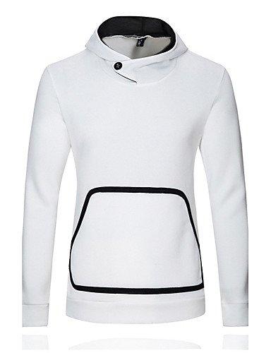 Navy Blue Jacke Hot (ZHUDJ Men'S Casual/Täglich Aktiven Normalen Hoodiessolid//Polyester Frühling/Herbst Hot Sale Marke Mode In Hoher Qualität, Xl, Navy Blue)