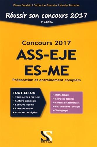 Réussir son concours ASS-EJE-ES-ME 2017