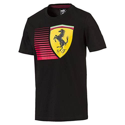 PUMA Ferrari Herren Big Shield T-Shirt Puma Black M