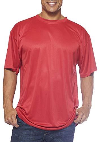 Champion's Männer Big-Tall Powertrain Solid-T-Shirt (Rot, 2 XL)