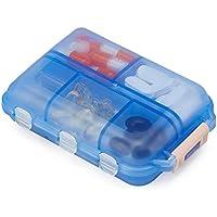 Pillendose Pillenbox Tablettenbox Reise Pillen Organizer Tragbare Pillendose 7 Tage Tabletten Box Medikamentenbox... preisvergleich bei billige-tabletten.eu