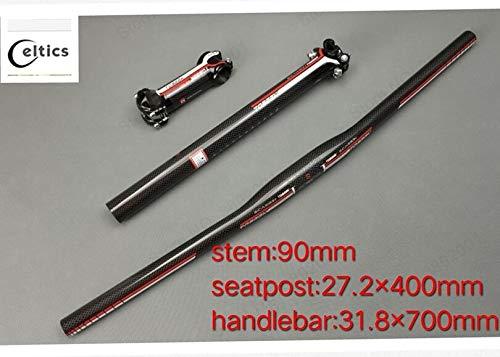 Manillar 31,8x 700mm9 tija sillín 27,2x 400mm