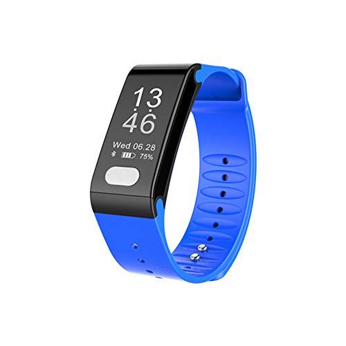 MXQH Fitness Tracker Watch, wasserdichter Activity Tracker mit Pedometer Herzfrequenz und Sleep Monitor, Step Calorie Counter Wristband Smart Watch für Android und iOS,Blue