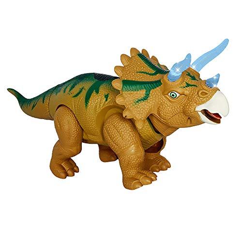 12shage große Dinosaurier Figuren, T-Rex, Triceratops, Mehrfarbig (Grün) - Sitzbank Rot, Outdoor