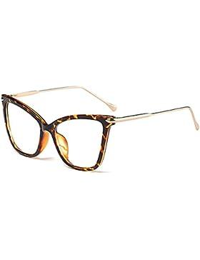 Gafas de sol rojas pequeñas del triángulo hibote Gafas de sol atractivas del ojo del gato Mujeres C1 retros