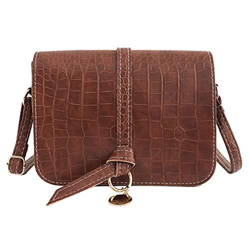 Women's Handtasche Schultertasche Shopper Taschen Umhängetasche, Mode Vielseitig Arbeitsrucksack Vintage Crocodile Shoulder Bag Joker Crossbody Bag Solid Color Bag