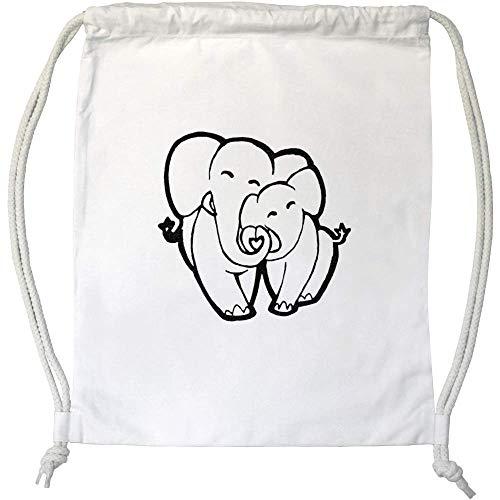 Azeeda 'Amor Elefantes' Cordón / Bolsa de Gimnasio (DB00015317)